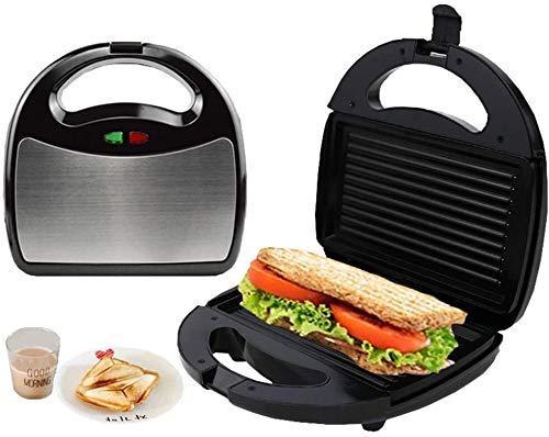 WSJTT toastie Maker Máquina eléctrica para Hacer gofres, tostadora para sándwiches, Antiadherente, Panini, Platos de cocción Profunda, máquina para Hacer Helados (Tama?o: Estilo 1)
