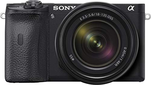Sony Alpha ILCE 6600M 24.2 MP Mirrorless Digital SLR Camera with 18-135 mm Zoom Lens (APS-C Sensor, Fastest Auto Focus, Real-time Eye AF, Real-time Tracking, 4K Vlogging Camera, Tiltable LCD)