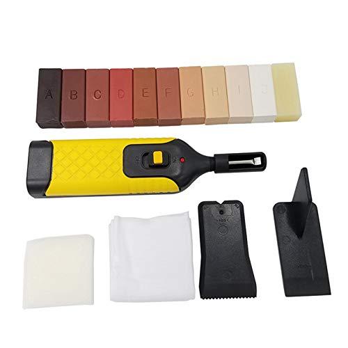 Niazi Set de reparación de suelos de mármol, accesorios de reparación de huecos de cerámica, juego de herramientas de reparación de suelos, reparación de baldosas, multicolor