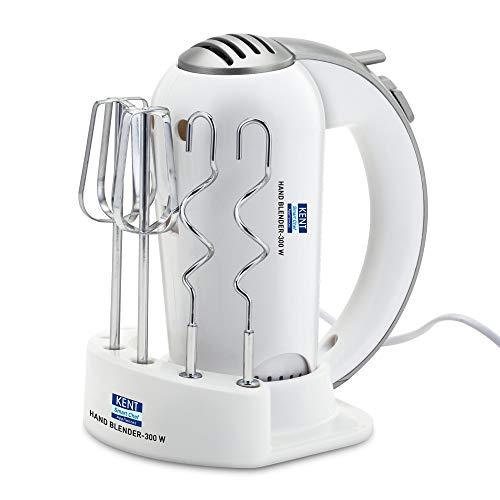 KENT 16051 Hand Blender, 300W (White)