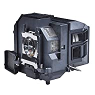 LP92 Premium Projector Lamp Bulb with Housing fit for Elplp92 EB-696Ui EB-1440Ui EB-1450Ui EB-1460Ui BrightLink 696Ui BrightLink 697Ui EB696Ui EB1440Ui EB1450Ui Premium Lamp Bulb Guarantees Amazing Color and Sharp Images 180- Day Long Warranty from t...