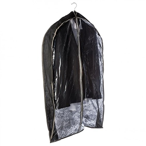 Paris Prix B Basic & co - Housse de Rangement pour Vestes 61cm Noir