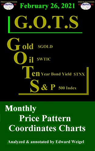February 26, 2021: G.O.T.S : Gold ($GOLD), Oil ($WTIC), 10-Year Treasury Bond ($TNX) and the S&P 500 Index ($SPX) Monthly Price Pattern Coordinates Charts (English Edition)