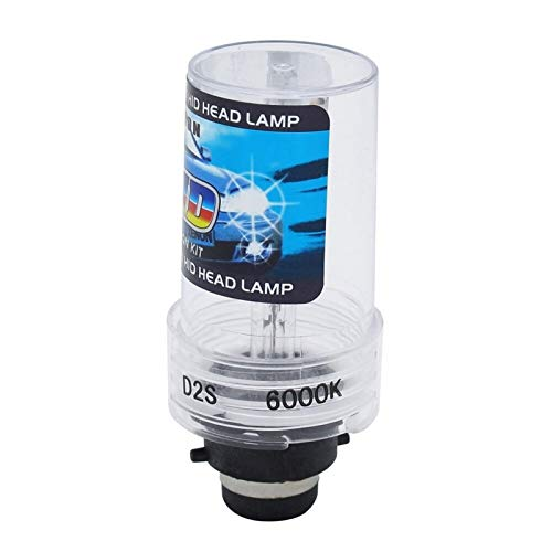 CJXIN® 1pcs duradero 35W Car Auto HID Xenon lámpara de la bombilla D2S 4300K 5000K 6000K 8000K 10000K 12000K coche 12V automático Xenon Faro ( Emitting Color : 8000K White Blue , Socket Type : D2S )