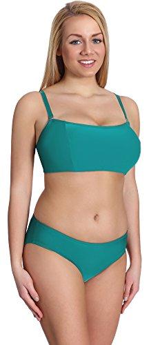 Merry Style Damen Bikini Set P610-62MIX (Türkis, Cup 80 G/Unterteil 40)