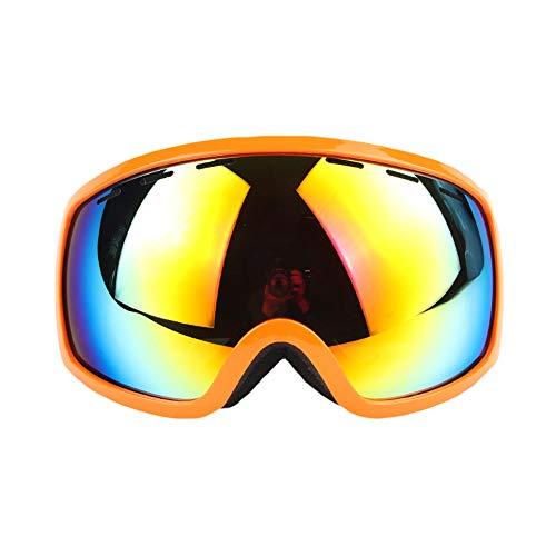 AJAC Ski Goggles, Anti-Glare Snowboard Goggles met 180° Wide View UV400 bescherming, OTG Premium Sneeuwbril voor Outdoor Sport Mannen Vrouwen Tiener