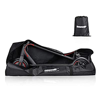 Huntvp E-Scooter Bag Storage Cover Heavy Duty Transport Bag Foldable Scooter Accessory Backpack Handbag Shoulder Bag for Xiaomi Mijia M365