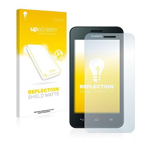 upscreen Entspiegelungs-Schutzfolie kompatibel mit Huawei Ascend Y330 – Anti-Reflex Bildschirmschutz-Folie Matt