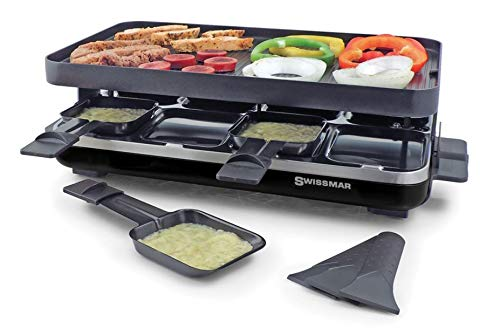 Read About Swissmar Valais 8-Person Raclette Party Grill Matte Black