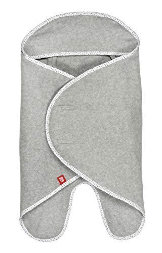 Red Castle 0832174 Baby-Einschlagdecke - Für Babyschale/Kinderwagen/ Liegewanne - Schützende Kapuze - Atmungsaktiv - Übergangszeit - Babynomade - Fleece - Stella, mehrfarbig, 255 g