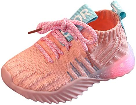 LED Light Luminous Fashion Sneakers Toddler Kids Girls Boys Light Up Sport Shoes Comfortable product image