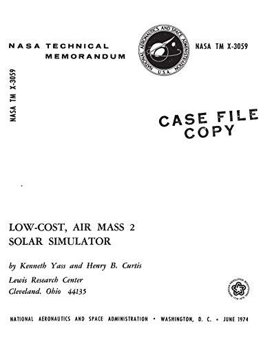 Low-cost, air mass 2 solar simulator (English Edition)