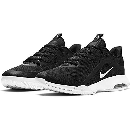Nike Court Air MAX Volley, Zapatos de Tenis Hombre, Negro Blanco, 47 EU