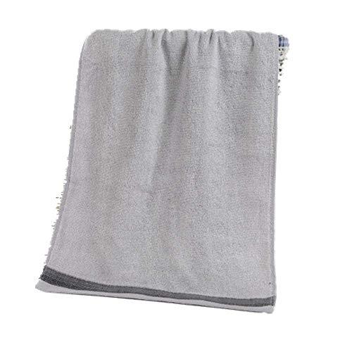 XIAOAO gerippte Jacquard Plain Adult Face Handtuch Bambusfaser Waschhandtuch