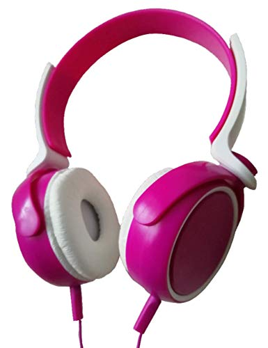 TradeProvider Auriculares de diadema con cable, auriculares con cable, auriculares de estudio, auriculares para juegos, auriculares para PC, auriculares con cancelación de ruido