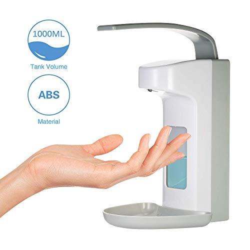 Frontoppy Wandspender 1000ML Seifenspender Desinfektionsspender Kunststoffpumpe für Küche, Bad, WC
