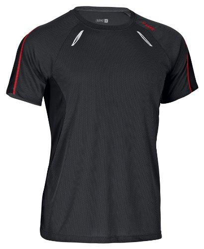 Rono Dry Cool T-Shirt de Sport Men's Noir Noir Petit