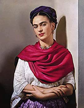 New Paint by Numbers for Adults Children - Frida Kahlo Self-Portrait - DIY Digital Painting by Numbers Kits On Canvas