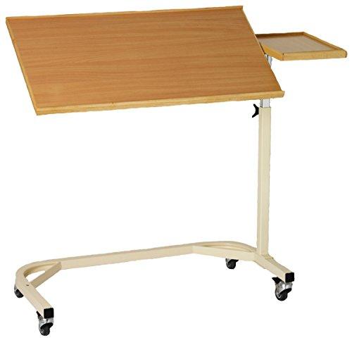 Robuster XXL Betttisch / fahrbarer Laptoptisch neigungs und höhenverstellbar auch für die professionelle Pflege