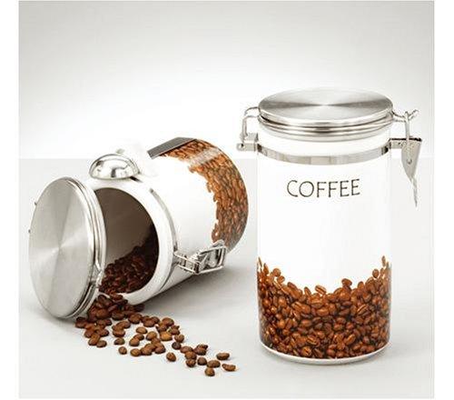 Zeller Kaffeedose mit Kaffeemaßlöffel