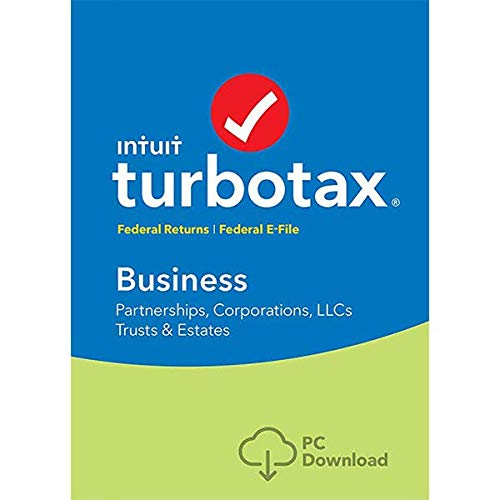 lntuit TURB0TAX Business 2018 Tax Software Fed efile Trust, C & S Corp