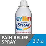 Icy Hot Medicated Spray, 3.7-Ounce Aerosol (Pack of 4)