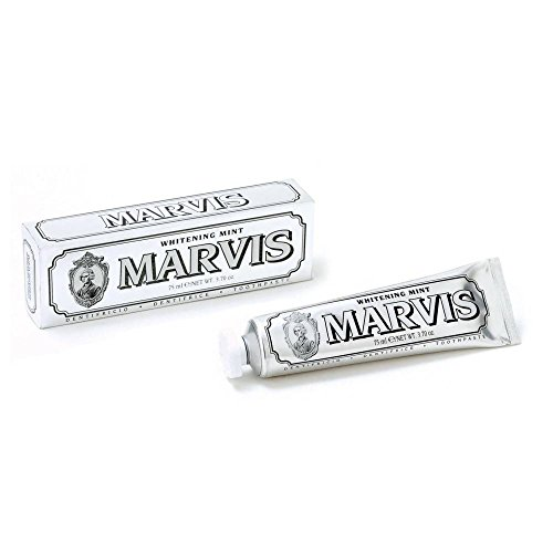 Marvis Zahncreme Whitening Mint 75ml, 3er Pack (3x 75ml)
