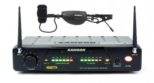 Samson AirLine 77 Wind Instrument True Diversity UHF Wireless System (Channel N4)