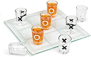 Tobar Drinking Noughts and Crosses Game, Multi-Colour, 29660