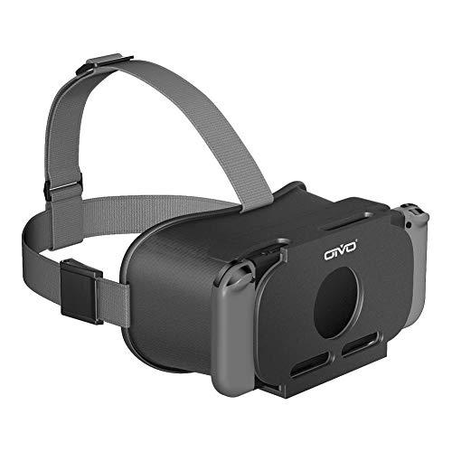 スイッチVR OIVO VRゴーグル メガネ3D VRヘッドセット ゲーム 映画 動画 大きなレンズ VRグラス VRボックス 固定ヘッドバンド付 マリオ・ゼルダ・狼と香辛料VRなど対応 EVE 360°VR