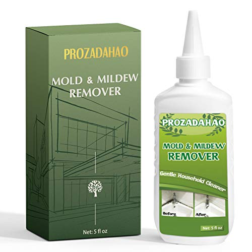 Mold Mildew Remover Cleaning Gel Household Cleaner Black Mold Stains Removal for Wall Tiles Grout Sealant Bathroom Cleaning Home Kitchen Sinks Cleaning 5 fl oz