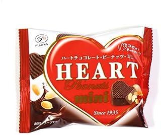 不二家 ハートチョコレート ピーナッツ ミニ 袋42g 20コ入り