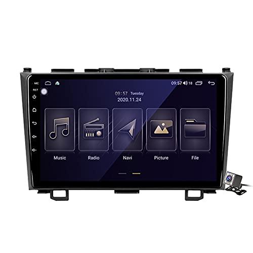 Android 10 9 Pollici Autoradio Multimediale per Honda CRV CR-V 3 RE 2006-2012 Supporto Navigatore GPS/FM AM RDS 5G DSP/Bluetooth Vivavoce/Carplay Android Auto/Controllo del Volante,M150s