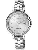 Citizen Women's Chandler EW2440-88A Silver Stainless-Steel Quartz Dress Watch