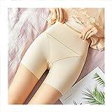 Linyuex Pantalones Cortos de Ropa Interior sin Fisuras Pantalones Cortos de Seguridad de algodón Suave Mujer Sexy Encaje Mujeres más tamaño Boyshort Bragas (Color : Beige 1, Size : XL)