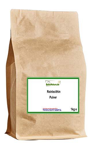 Reinlecithin Pulver E322 GMO frei (1000 g) Sojalecithin Soja Lecithin Pulver 1kg