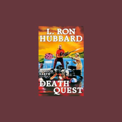 Death Quest audiobook cover art
