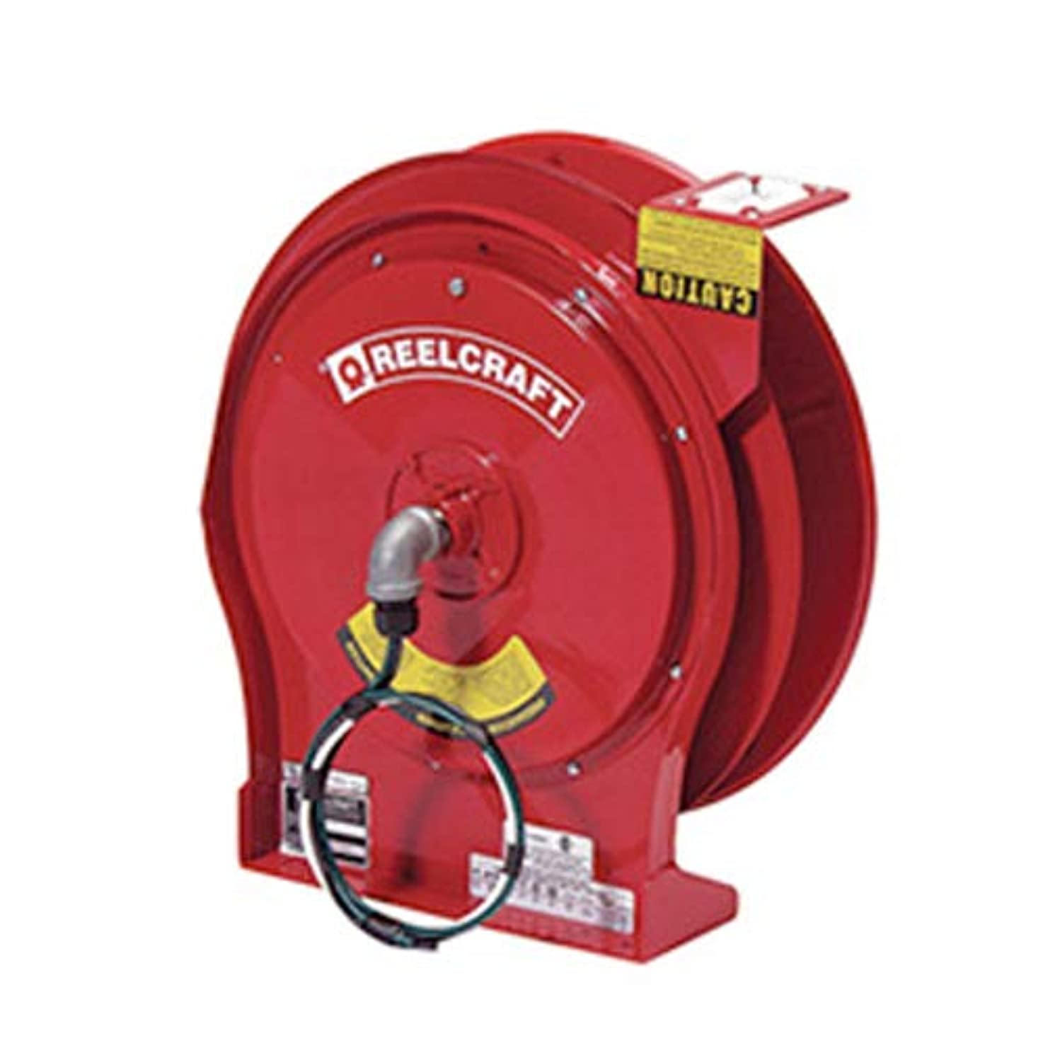 Reelcraft L 5700 Heavy Duty Cord Reel, 10 AWG/3 Conductors x 50', 30 AMP, Cord Not Included blujfdjaginyg4