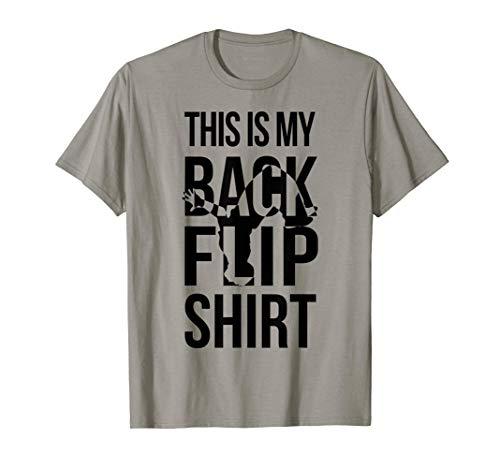 This Is My Backflip Shirt - Parkour & Gymnastics T Shirt Camiseta