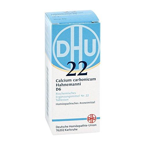 DHU Schüßler-Salz Nr. 22 Calcium carbonicum Hahnemanni D6 Tabletten, 80 St. Tabletten