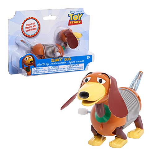 Disney•Pixar's Toy Story Slinky Dog Wind-Up Toy, Slinky Dog from Toy Story for Kids