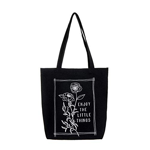 Joyfeel comprar bolsa de lona de arte con color natural ecológico reutilizable Shopper Bag Palm Leaf Canvas Tote Shopping Bag