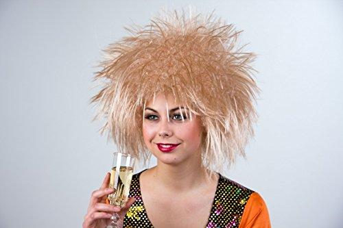 Nina perruque blonde champagne
