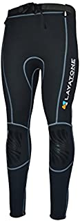 Layatone Wetsuit Pants Premium 2mm Neoprene Diving Pants Women Surfing Swimming Long Pants Snorkeling Canoeing Sailing Wet Suit Trousers Tights Wetsuit Leggings Men Kayaking Scuba Diving Pants
