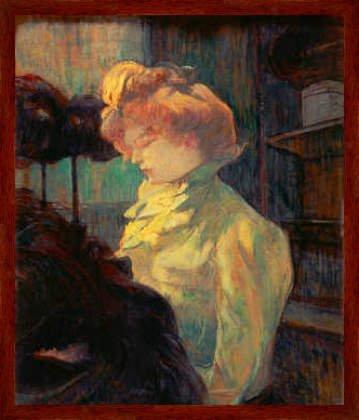 Bild mit Rahmen: Henri de Toulouse-Lautrec,
