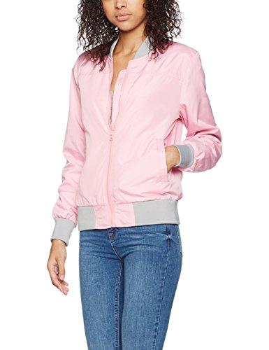 Brandit Damen Bomber Jacke Jula Girls Blousonjacket per pack, Rosa (Rosa (rosè 162) 162),Medium