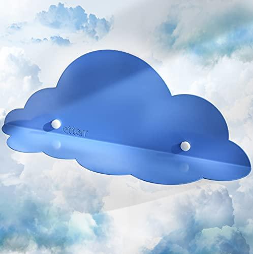 Estante en Forma de Nube para decoración habitación de bebé y habitación de niños, 100% Acero al Carbono de Alta Resistencia (1)