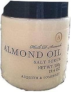 Asquith & Somerset Almond Oil Salt Scrub - 19.4 oz