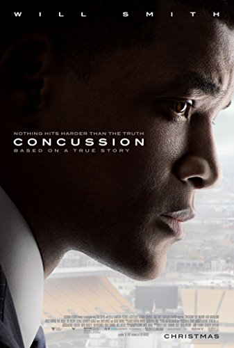 CONCUSSION MOVIE POSTER 1 Sided ORIGINAL FINAL 27x40 WILL SMITH