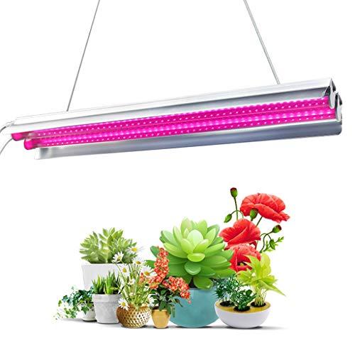 Indoor LED plant wax licht, dubbele tak lampenkap bloeiend resultaat 18W Het hele spectrum vol licht, 85~260 V